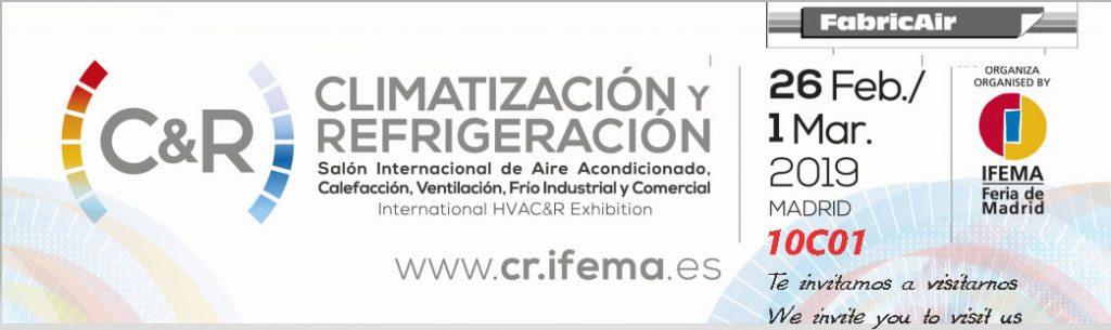 Climatización y Refrigeración em Madrid 2019